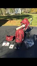 Maroon Bugaboo Stroller all parts and accessories new condition (PRICE REDUCED)