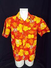 SeaDoo Bombardier Hawaiin Shirt. Stretchy Nylon Spandex. Men's. Large. Perfect.