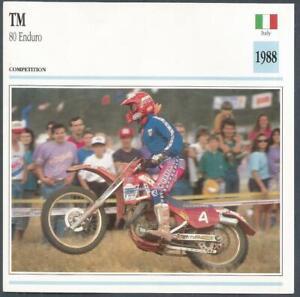 EDITO SERVICE S A CLASSIC MOTORCYCLES-1988-TM-80 ENDURO