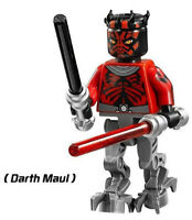 New Super Heroes Space Wars Darth Maul Vader Yoda Wolverine Building Blocks New