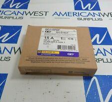 SQUARE D QO115PDF 1 POLE ARC-D-TECT COMBO ARC FAULT CIRCUIT BREAKER 15A 120V NEW