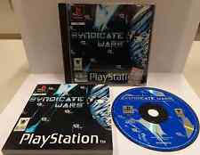 Console Gioco Game SONY Playstation PSOne Play PSX PS1 PAL ITA - SYNDICATE WARS