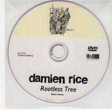 (EG443) Damien Tice, Rootless Tree - DJ DVD