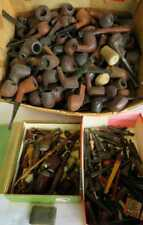Lot Of over 250 Estate pipes, Stems, Pipe parts FREE SHIPPING IN THE USA