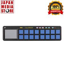 KORG USB MIDI NANO PAD2 BLYL Blue Yellow Limited Edition Series 100% Genuine