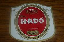 DE .VIETNAM ASIA HADO 330 ML OLD BEER LABEL    NR 0509