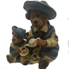 Vintage Boyds Bears and Friends The Bearstone Collection Fine Cup Of Tea