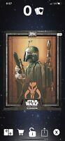 Star Wars Card Trader Illustrated 2019 CTI Boba Fett Gray