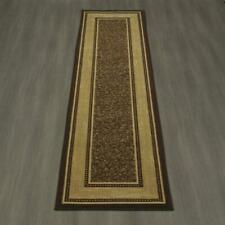 2x9 Ottomanson Contemporary Bordered Design Modern Non Slip Nylon Hallway Rug