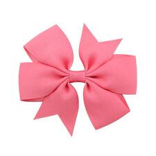 Girls Baby Kids Bowknot Headwear Hair Bow Women Hair Clip Pin Accessories