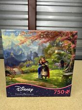 NEW! Disney Thomas Kinkade 750 piece puzzle, Mulan Blossoms of Love