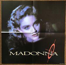 Madonna  Live To Tell   Original 1986 UK Poster