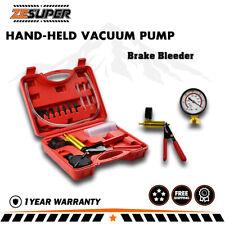 XBULL Hand-Held Vacuum Pressure Pump Tester Kit Brake Fluid Bleeder
