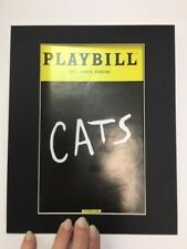 Picture Framing Mats for Playbill fits 8x10 Frame Black with Black set of 6