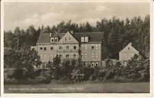 Frankenhain bei Gotha, Genesungsheim Waldfrieden, Foto-Ansichtskarte von 1934