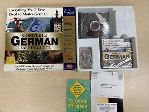 Transparent Language Complete German Learning Suite Unused