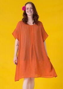 Gudrun Sjoden Mirabelle Viscose Tunic  Dress L /XL(18-20)