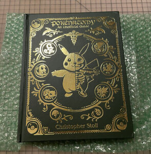 Pokenatomy Unofficial Pokemon Anatomy Guide Book Leather Hardcover IN HAND!