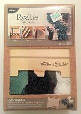 Bucilla plaid RyaTie starter kit, complete kit, #49031E