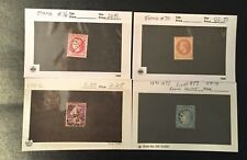 MIXED LOT 49 HIGH VALUE FRANCE STAMPS USED UNUSED 1854-1939 SCOTT'S 21 INCLUDED