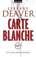 Carte Blanche von Jeffery Deaver (2012, Taschenbuch) UNGELESEN