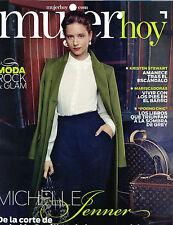 MUJER HOY 2012 Michelle Jenner Kristen Stewart spanish magazine