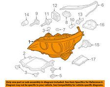 BMW OEM 04-07 525i-Headlight 63127160197