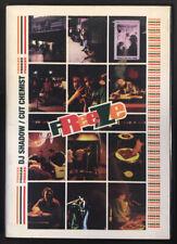 DJ Shadow and Cut Chemist Freeze DVD (2006) Z-Trip Nu-Mark turntable All Region!