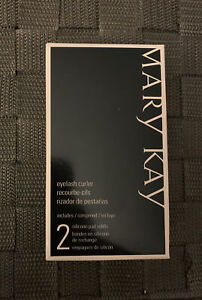 MARY KAY EYELASH CURLER WITH 3 SILICONE PAD REFILLS~LIMITED EDITION!