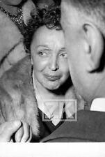 EDITH PIAF Chanteuse Olympia Snapshot Photo 1950s