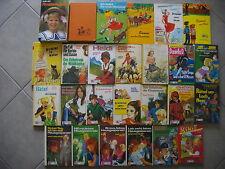 Schöne und grosse 26 Bücher in 34 Einzelbänden umfassende Sammlung für Mädchen!