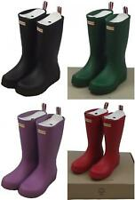 Hunter Ladies Original Tall Play Wellington Boots Various Colours & Sizes