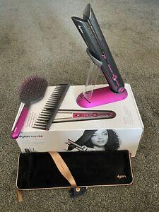 Dyson Corrale Hair Straightener - Black Nickel/Fuchsia Used Once