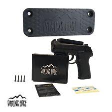 45 lbs Gun Holster Kit - Magnetic Mount Slick Handgun Holder for safe wall & car