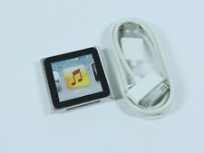 Apple iPod Nano 8GB 6th Gen Generation Silver MP3 WARRANTY