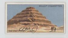 1924 Wills Do You Know Series 2 #10 where the Oldest Buildings in World are? a8x