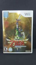Legend of Zelda Skyward Sword w/ CD Nintendo Wii Brand New & Factory Sealed!