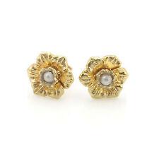 Pearl Stud Rose Gold Fine Earrings