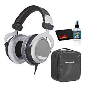 Beyerdynamic DT 880 Premium Edition 250 Ohm Over-Ear Stereo Headphones Bundle
