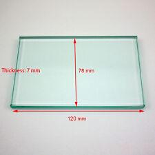 Dental Lab Mixing Glass Slab Size 120*78*7 mm