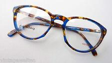 Menrad Gestell Kunststoff-Brille braun-blau occhiali Fassung 53-19 Grösse M