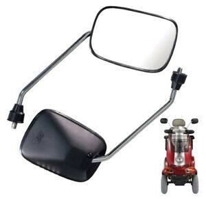 MIRRORS FOR PRIDE ELITE GO GO MOBILITY SCOOTER REPLACEMENT MIRRORS 8MM THREAD