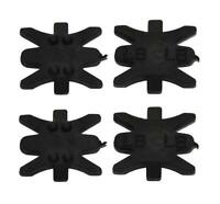 4Pcs Archery Recurve Bow String Bowstring Silencer Silicagel Hunting Compound