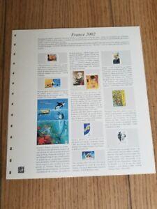 Feuilles SAFE FRANCE 2002/2003 pour Album SAFE 14 anneaux