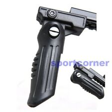 New Tactical 20mm RIS Rail Folding Foregrip BK Grip for hunting airsoft