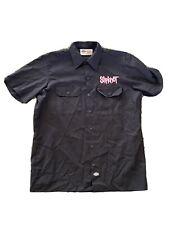 Slipknot Dickies vintage 1999 tour Shirt! Blue Grape Button Up.