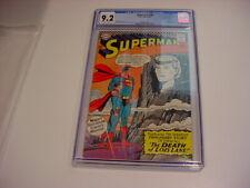1967 SUPERMAN #194 CGC 9.2 BLUE LABEL Death of LOIS LANE 1967 FREE SHIP
