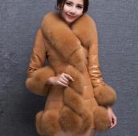 Damen Jacke Mantel Kunstpelz Winter Warm Fashion Party Farbwahl M-4XL Elegant