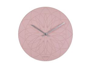 Karlsson Fairytale Wall Clock by Armando Breeveld (35cm Pink KA5836PI)
