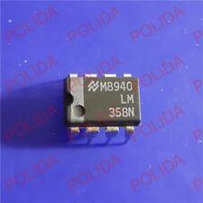 10PCS Operational Amplifiers IC NSC DIP-8 LM358N LM358N/NOPB